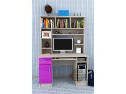 Компьютерный стол Мебелеф – 37 фиолетовый