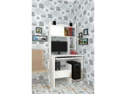 Компьютерный стол Мебелеф – 9 белый