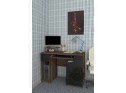 Компьютерный стол Мебелеф – 29 черный