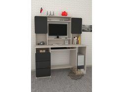 Компьютерный стол Мебелеф – 47 черный
