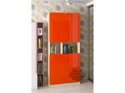 Стеллаж Мебелеф – 5 оранжевый