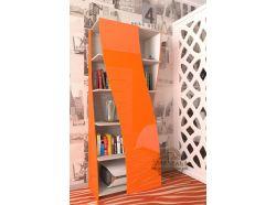 Стеллаж Мебелеф – 6 оранжевый