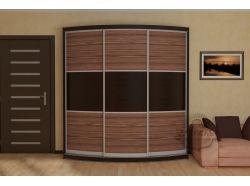Радиусный шкаф купе Мебелеф 5