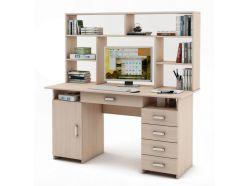 Письменный стол Лайт-7Я с надстройкой