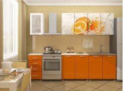 Кухня Апельсиновый фреш 1700