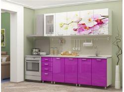 Кухня Букет из орхидей 1600