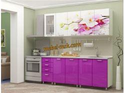 Кухня Букет из орхидей 1800