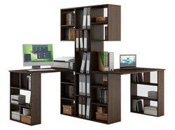 Стеллаж Феликс-3 + стол Феликс-5 + стол Феликс-5