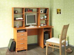 Стол компьютерный Милан-6 с надстройкой