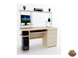 Компьютерный стол Арон-6 с надставкой