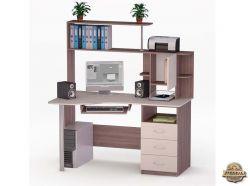 Угловой компьютерный стол Морис-4