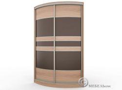 Купить радиусный шкаф купе Рада 5
