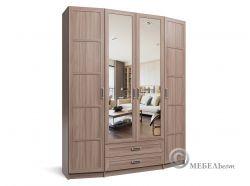 Шкаф 4,2 Норд зеркало