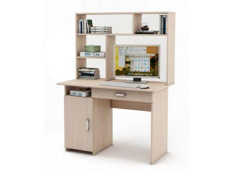 Письменный стол Лайт-2 Я с надстройкой