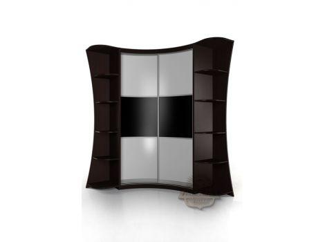 Радиусный шкаф Мебелайн 22