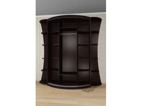 Радиусный шкаф Мебелайн 25