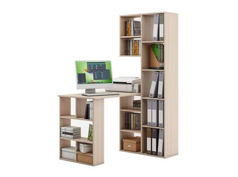 Стеллаж Феликс-2 + стол Феликс-5