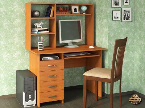 Стол компьютерный Милан-3 с надстройкой