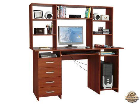Стол компьютерный Милан-6П с надстройкой