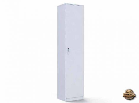 Шкаф распашной Ш-1 узкий Белый
