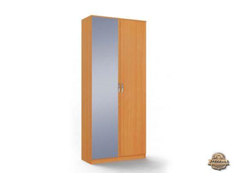 Шкаф двухдверный с зеркалом Ольга