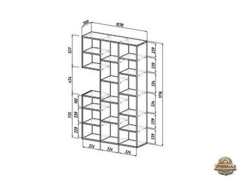 Стеллаж Рикс-1 схема