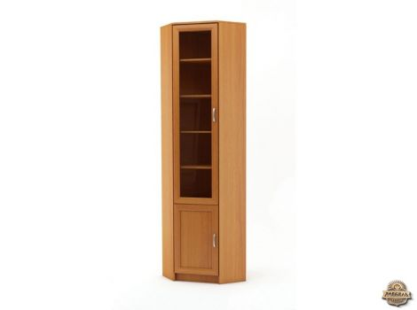 Книжный шкаф угловой Верона-2 высота-2400