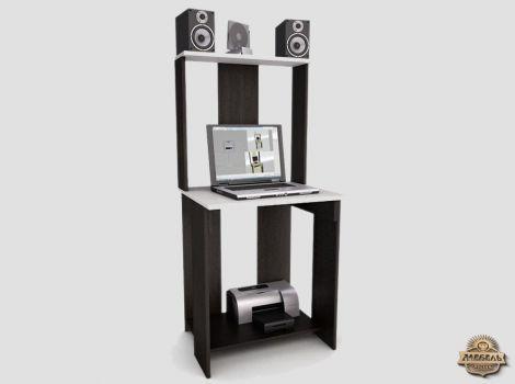 Стол компьютерный с надстройкой Лестер-4