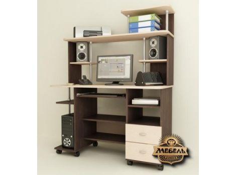 Стол компьютерный с надстройкой Морис-4