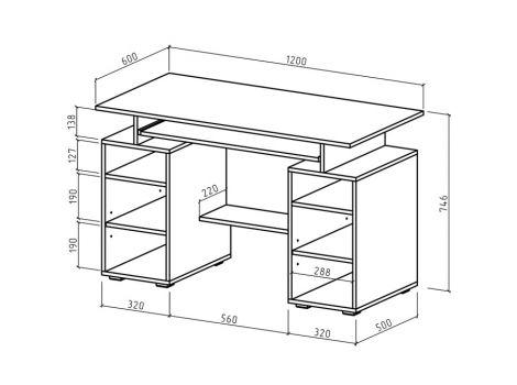 Компьютерный стол Имидж-41