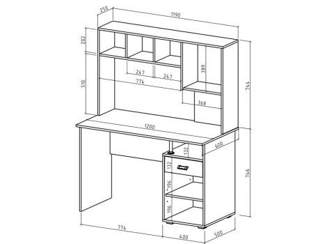 Компьютерный стол Имидж-49