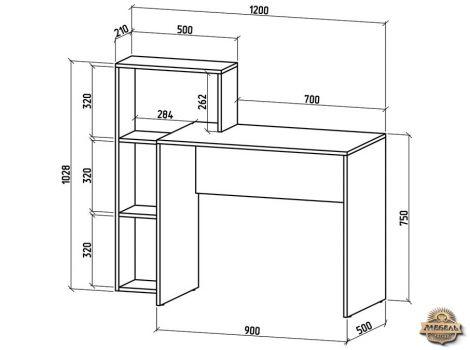 Письменный стол Нокс-3