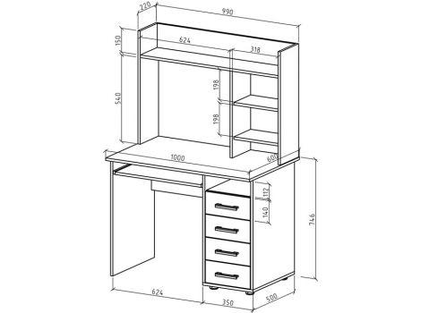 Письменный стол Остин-11