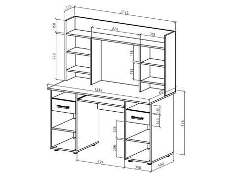 Письменный стол Остин-13