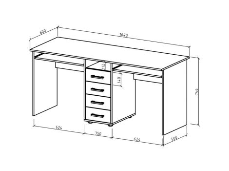 Письменный стол Остин-8