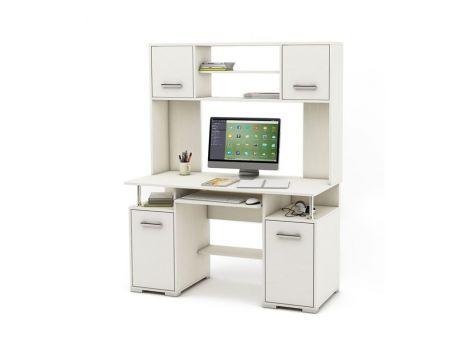 Компьютерный стол Амбер-17 белый