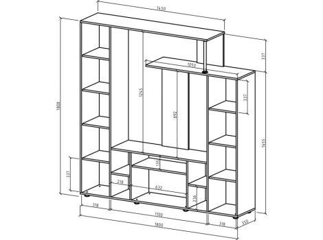 Стенка Остин-1 схема