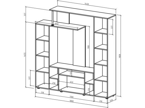 Стенка Остин-2 схема