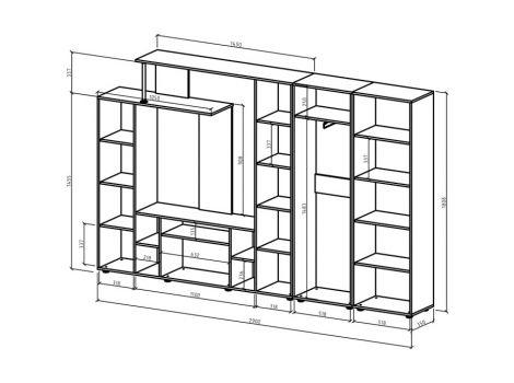 Стенка Остин-6 схема